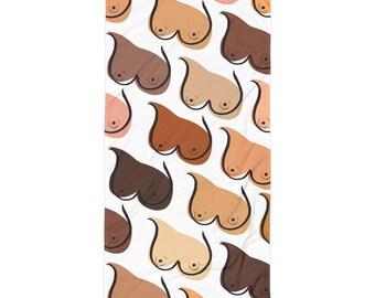 Boob Pattern Free the Nipple Towel