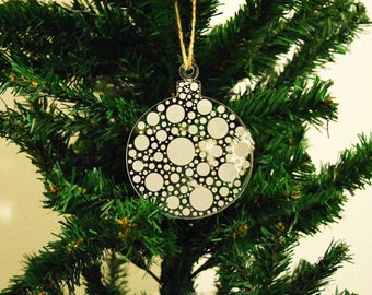 Bauble Christmas Decoration Ball 3mm Acrylic Perspex®