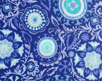 Sunnyside Kate Spain celestial blue moda fabrics FQ or more