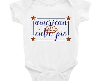 American Cutie Pie Onsie
