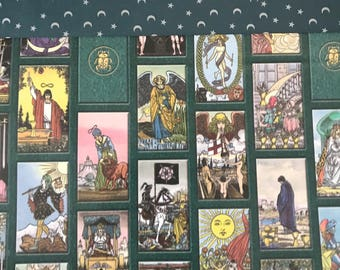 Tarot Gift Wrapping Upgrade Add On // RARE Tarot Card and Crescent Moon Wrapping Paper // Add On For Gift
