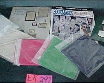 Patterns, Bookmarks, Counted Cross Stitch Books and Aida Cloth SKU EK-297