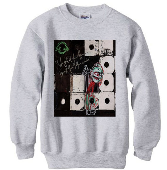 a tribe called quest marauders atcq wu tang instinct low end - fleece sweatshirt sweater grey v6d9RbDG