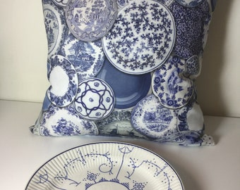 Porcelain Pillow cover