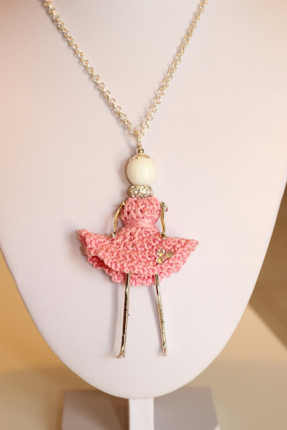 Favoloso Tutorial Collana bambolina dolce Sweet Dolls simil Le ZV62
