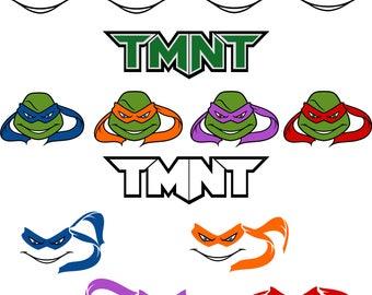 Ninja Turtles.Svg.Dfx.Eps.Pdf.Png.