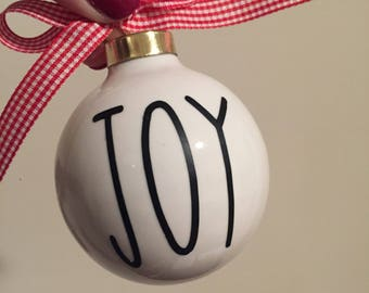 Custom Christmas Ornament | Ceramic Ornament