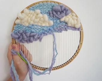 The Hoop Loom - round weaving loom / weaving frame