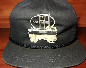 Vintage Heil semi truck snapback trucker hat