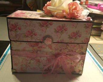 Rosey, Romantic Stationary Box