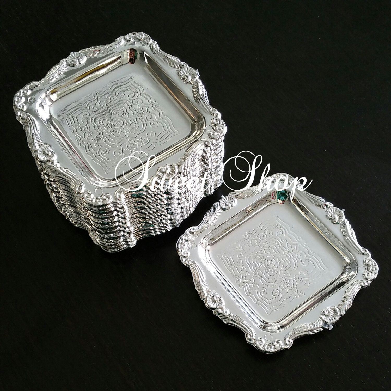 Mini Silver Tray Platter