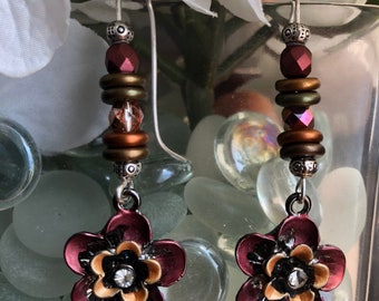 DBC: Floral Charm Earrings