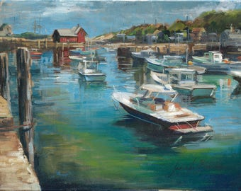 Motif 1 Rockport Landscape Giclée Fine Art Print