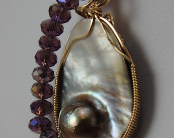 Price Just Reduced Lavender Blister Pearl