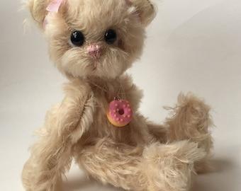 Mohair Artist Bear by Chicago Bear Co: Sugar