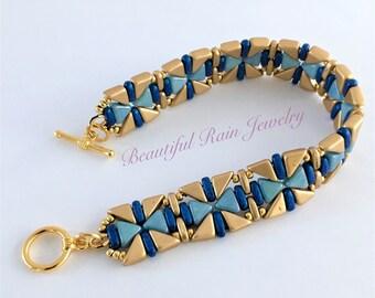Tango and Kheops Beaded Bracelet Pattern