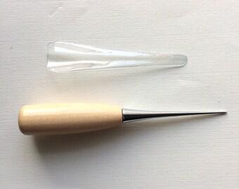 Bradawl for Needle Felting. Wooden Awl. Needle Felting Tools.