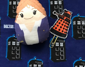 Doctor Who Inspired River Song/ Melody Pond Stuffed Doll