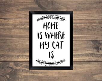 DIGITAL Cat Sign