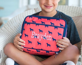 Monogram Lunchbox, Personalized Lunch Bag, Insulated Lunch Box, Monogram Lunch Bag, Back to School, Lunch Box For Kids, School Lunch Bag