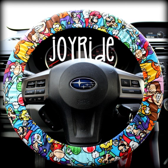 Steering Wheel Cover Nintendo Mario Brothers Donkey Kong Car