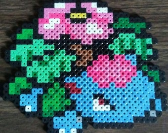 Pokemon Mega Venusaur Perler Bead Pixel Art