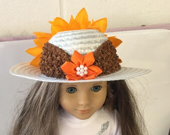 """Hat #8 doll clothes that fit 18"""" like the American girl"""