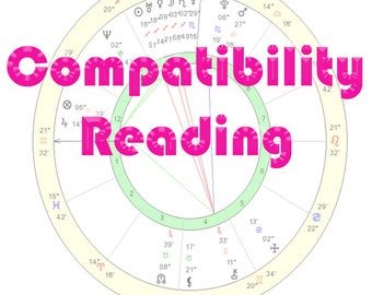 Astrological love compatibility Report / astrology love reading / relationships / guidance / handwritten report