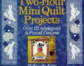 Two-Hour Mini Quilt Projects: Over 111 Appliqued & Pieced Designs Hardcover