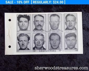 1936 Buffalo New York Police Department Shoplifters MUG SHOT Book Original Gallery Page