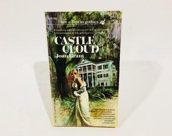 Vintage Gothic Romance Book Castle Cloud by Joan Grant 1965 Paperback