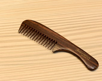 Bedfordshire Beard Co Handle Comb