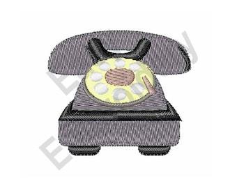 Telephone - Machine Embroidery Design