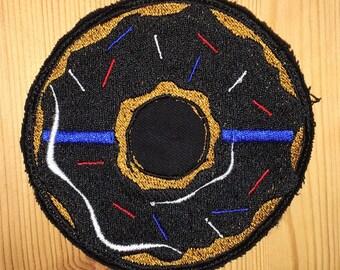 Blue Line Donut Patch