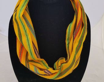 Traditional Mexican Handmade Short Scarf
