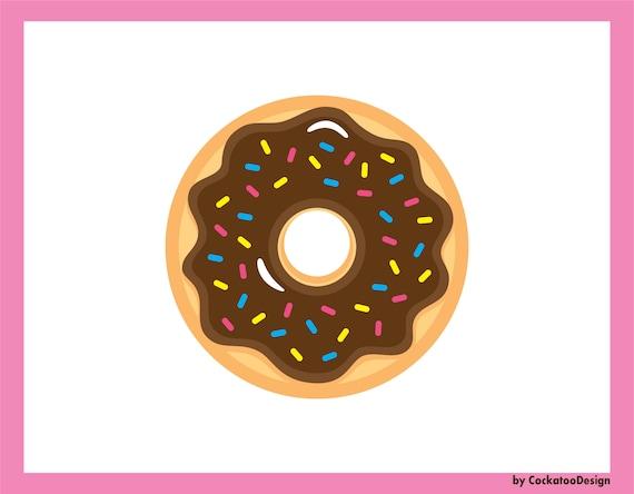 35% OFF, Donut clipart, kawaii clip art, donuts clip art ...