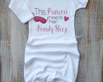 Newborn sleeper, Newborn gown, Baby gowns, Baby clothes, Baby sleep gowns, Baby girl, Baby girl clothes, Baby, Gowns, Baby shower gifts,Cute