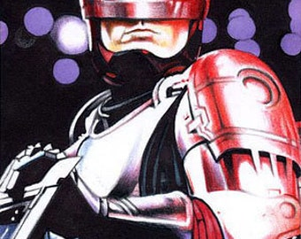 RoboCop - Artist Sketch Card