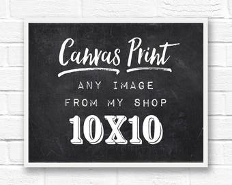 10x10 canvas, canvas art, canvas wall hanging, canvas quote art, canvas photo, custom canvas art, custom canvas sign, square canvas, square