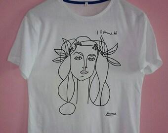 Picasso Woman (Francoise Gilot) Sketch T Shirt