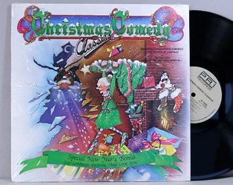 Christmas Comedy Classics - Various Artists - Vintage Vinyl Record Album 1985 Novelty Christmas Songs