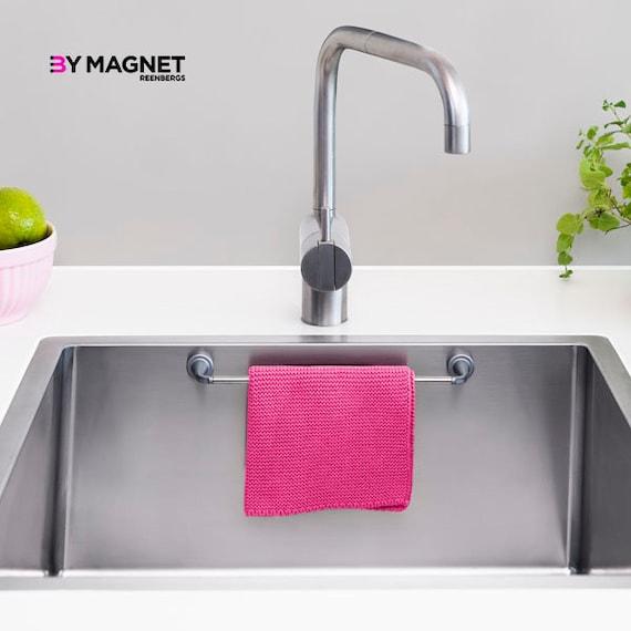 Magnet Kitchen Sinks Magnetic dishcloth holder workwithnaturefo