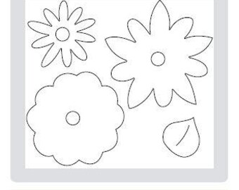 Stampin UP Flower Layers with Leaf Big Shot Die