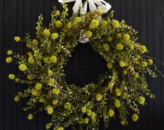Unique Greenery Front Door Wreath