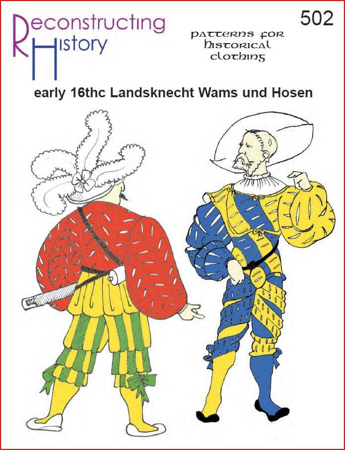 RC502 16. Jahrhundert deutsche Wams Und Hosen Landsknecht