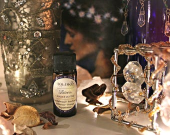 ASTERIA • magick bottle • sandalwood • patchouli • lavender • cinnamon • hibiscus • peppermint • goddess magick • astral travel • witchcraft