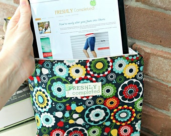 The iPad Sewn Cover Pdf Sewing Pattern -- Fits EVERY Tablet!