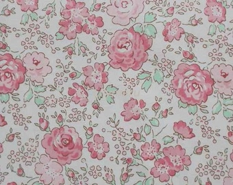 Liberty tana lawn printed in Japan - Felicite - Pale pink  mix