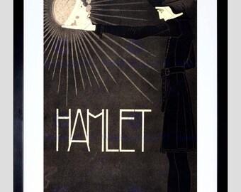 Theatre Advert / Art Print / Hamlet / Shakespeare / Poster - FECC2839
