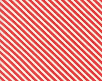 Bonnie Camille - Handmade - Bonnie Camille Floral Candy Stripe Red  - 55145 11